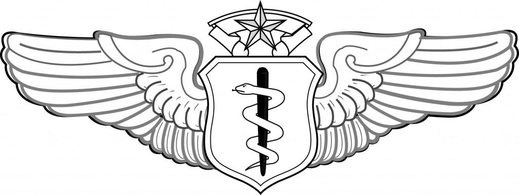 Chief Flight Surgeon badge